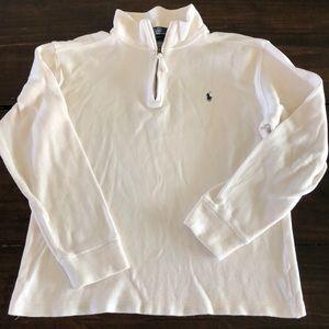 EUC Polo pullover 3/4 zip